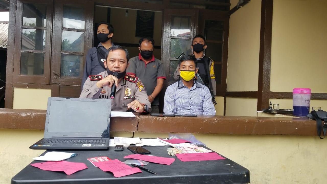 Judi Online, Warga Pyang Mbik Diamankan Polsek Lebong Utara Polda Bengkulu