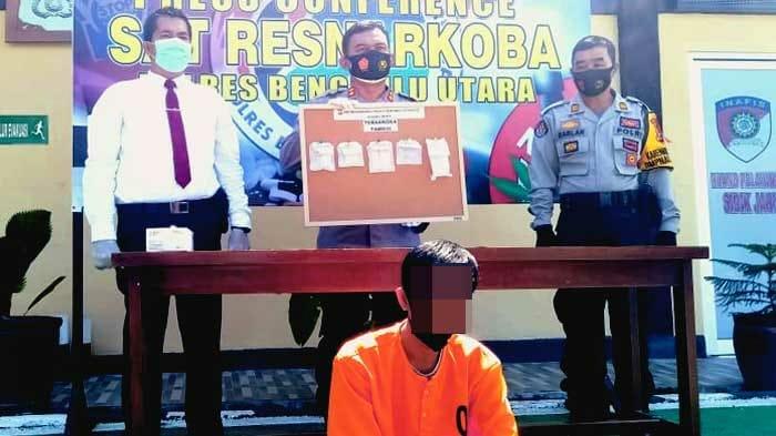 Menjadi Pengguna Dan Kurir Narkotika, Warga Mukomuko Diamankan Sat Narkoba Polres BU
