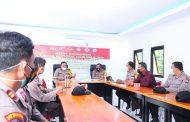 Wakapolda Bengkulu Himbau Personil Polres Benteng Jaga Kesehatan