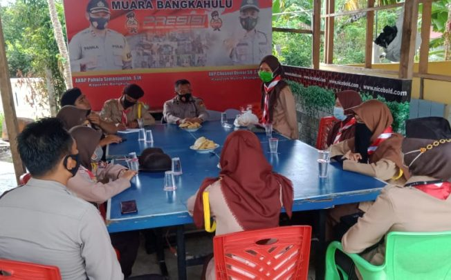 Kapolres Bengkulu Apresiasi Pembentukan Saka Bhayangkara Polsek Muara Bangkahulu