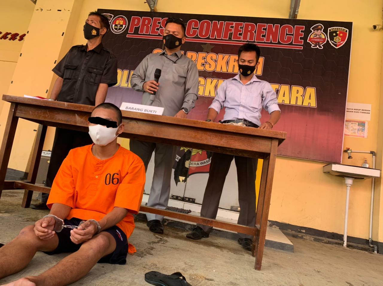 Diduga Melakukan Percobaan Pemerkosaan, Warga Argamakmur Diamankan Polres Bengkulu Utara