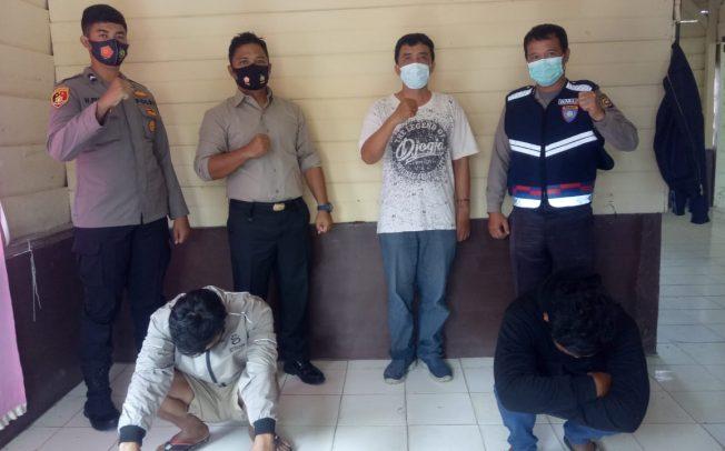 Curi Kawat Tembaga, 2 Warga MM Ditangkap Polisi