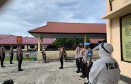 Pencegahan Covid-19, Polres Bengkulu Selatan Swab Tes Siswa Seba