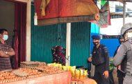 Patroli Kawasan Pasar, Satgas Aman Nusa Himbau Warga Patuh Prokes