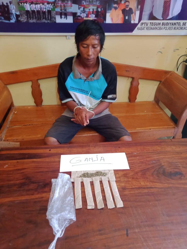 Simpan 6 Paket Ganja, Pemuda MM Ditangkap Polisi