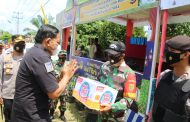Bersama Dandim dan Kapolres, Bupati Bengkulu Utara Kunjungi Pos Pam