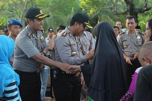 Ratusan Polisi Hadiri Pemakaman Bripka Venta Supriyadi