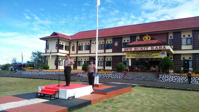 Kapolda Bengkulu Tutup Diksar Satpam di Spn Bukit Kaba