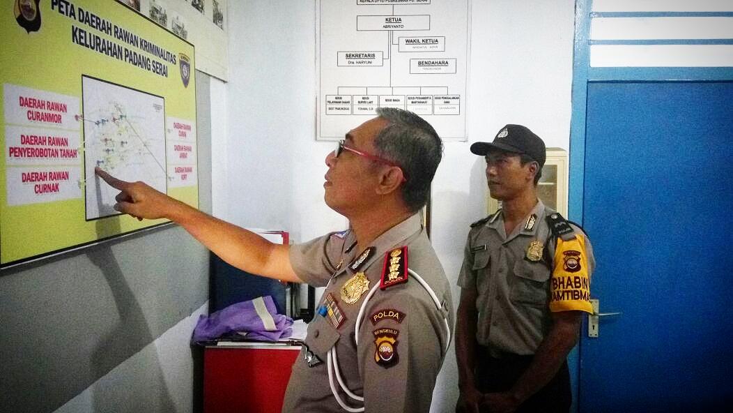 Kunjungi 7 Kelurahan, Tim Supervisi Polda Bengkulu Cek Kinerja Bhabinkamtibmas