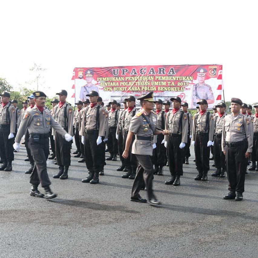 Kapolda Bengkulu Buka Pelaksanaan Pendidikan Polri Di SPN Bukit Kaba