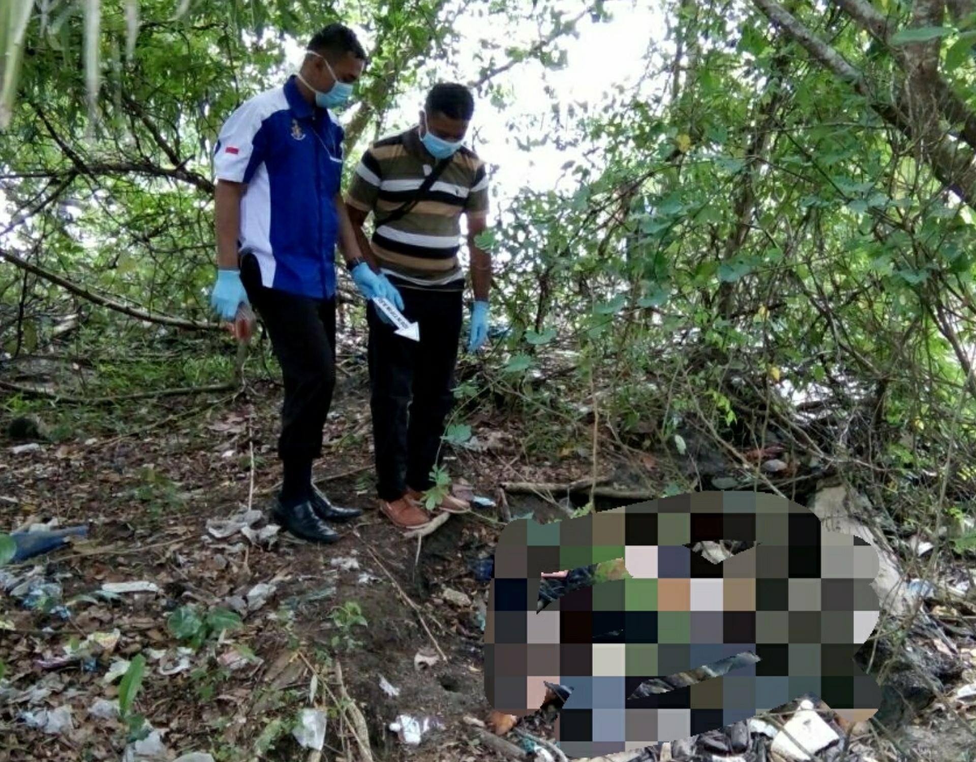 Penemuan Mayat Perempuan di Kawasan Kebun Sawit