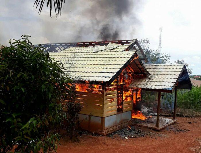 Kebakaran, Rumah Petani Ludes