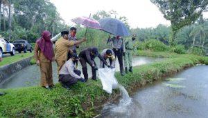 Polres BU Polda Bengkulu Launching Kampung Berseri