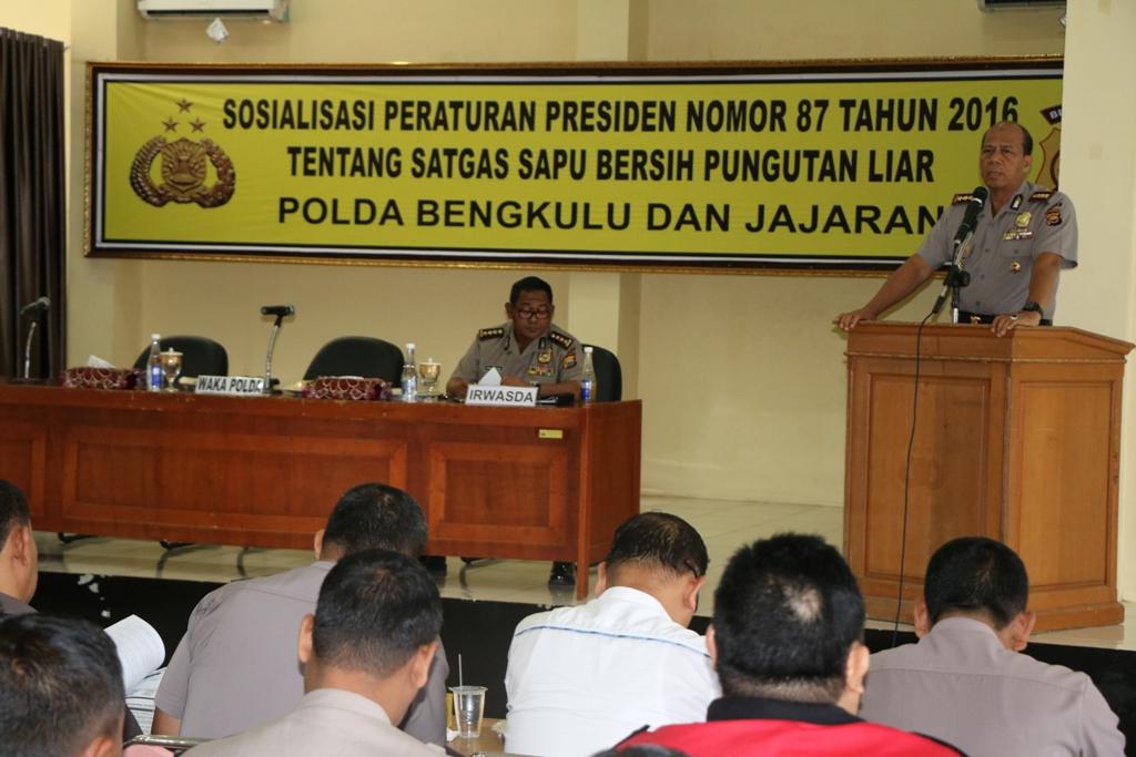Waka Polda Buka Acara Sosialisasi Pungli