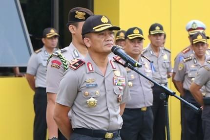 Kapolda Bengkulu; Tingkatkan Kewaspadaan Petugas Piket