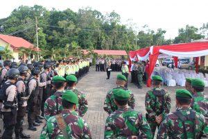 200 Personil Gabungan Amankan Debat Pilkada Benteng