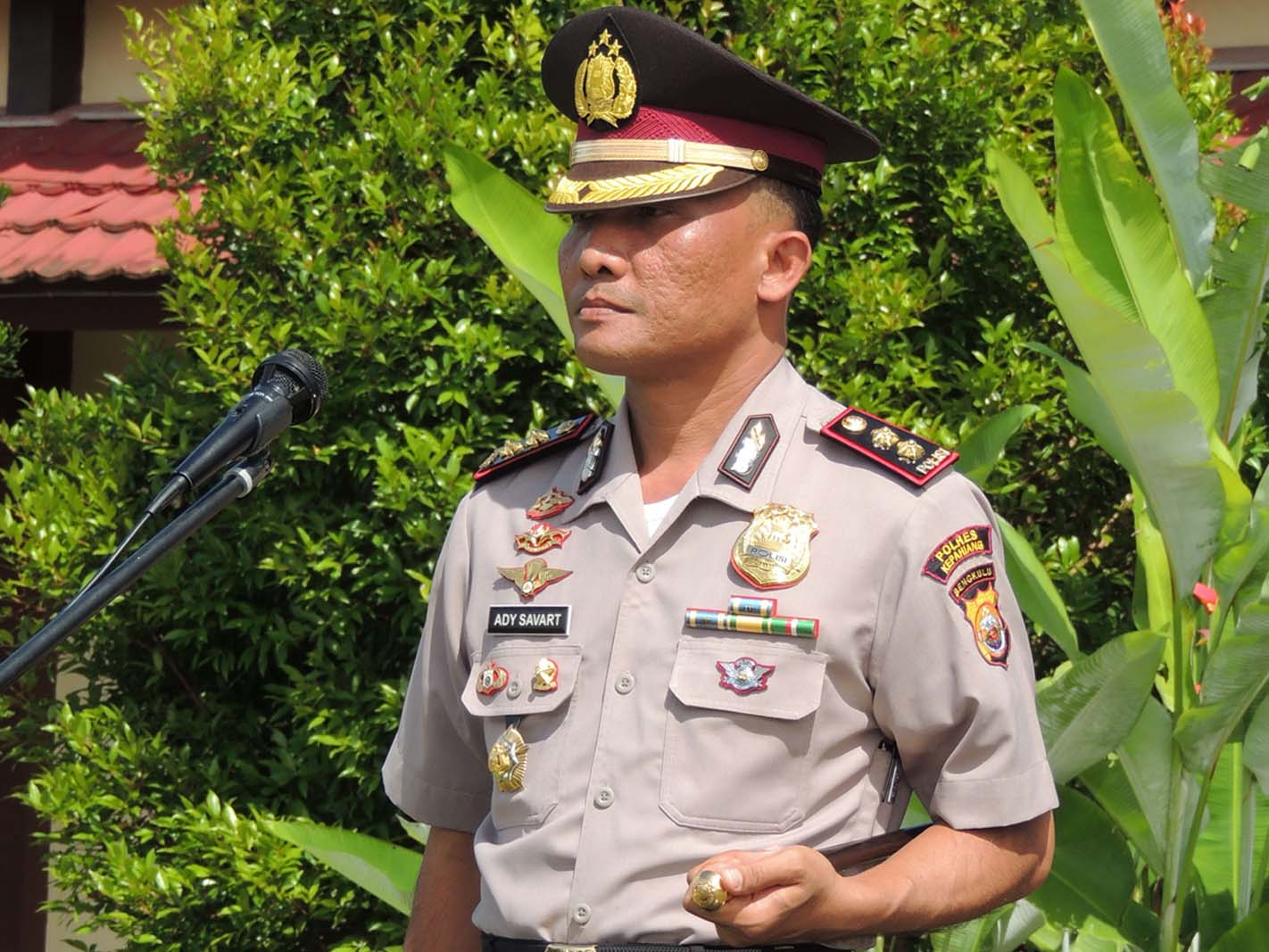 Kapolres Kepahiang  Himbau Warga Tak Resah Isu Penculikan Anak, Tapi Waspada