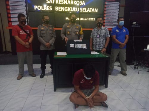 Nyambi Jadi Kurir Sabu, Pedagang Pempek Keliling Ditangkap Polisi