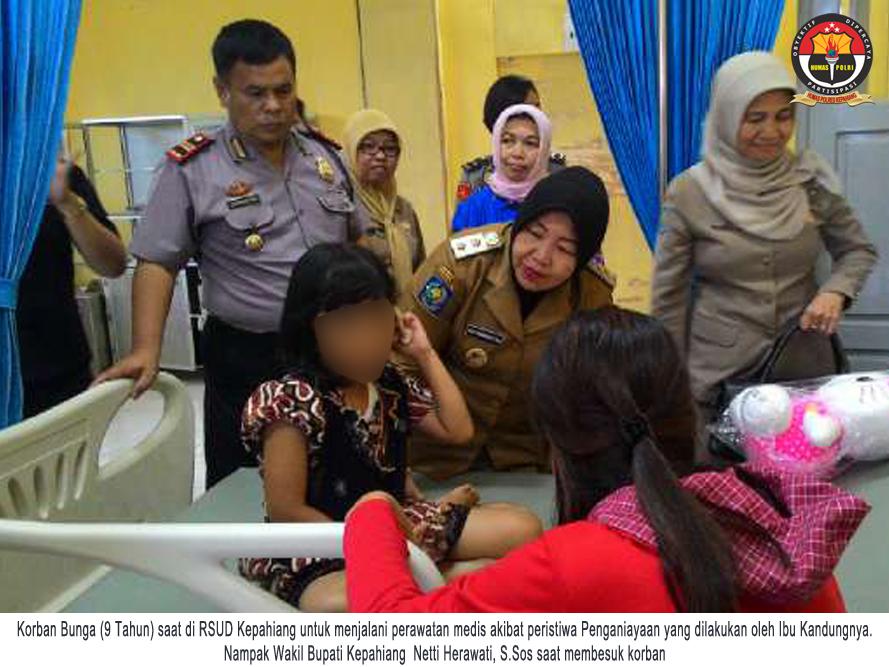 Polsek Ujan Mas Tangani Kasus Ibu Aniaya Anak Kandung