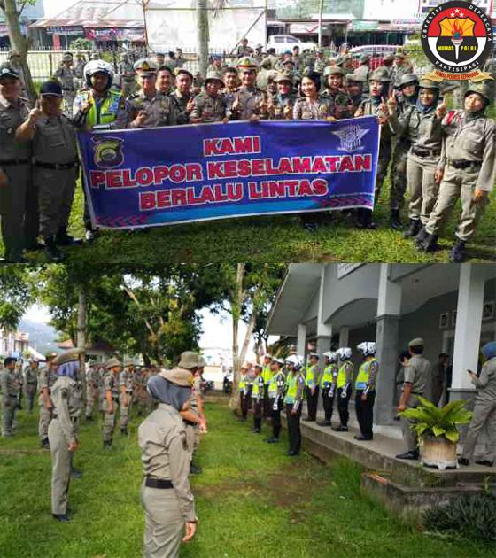 Lantas Polres Kepahiang Latih 50 Anggota Sat Pol PP