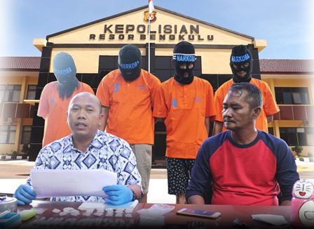 Polisi Tangkap Bandar Narkoba, Sita 110 Paket