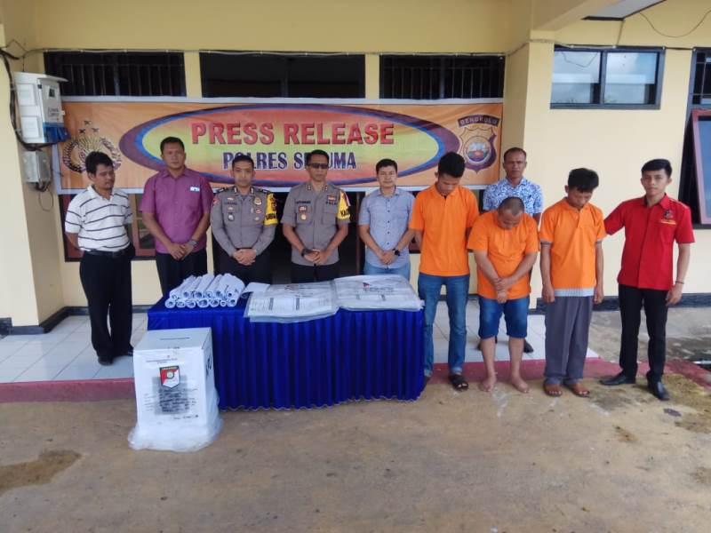 3 PPK Ulu talo Ditangkap Di Jakarta