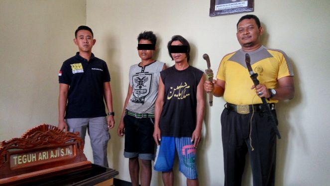 Bacok Mandor, Polisi Amankan Bapak Dan Anak