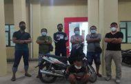 Warga Teluk Segara Ditangkap Polisi Lantaran Gelapkan Sepeda Motor