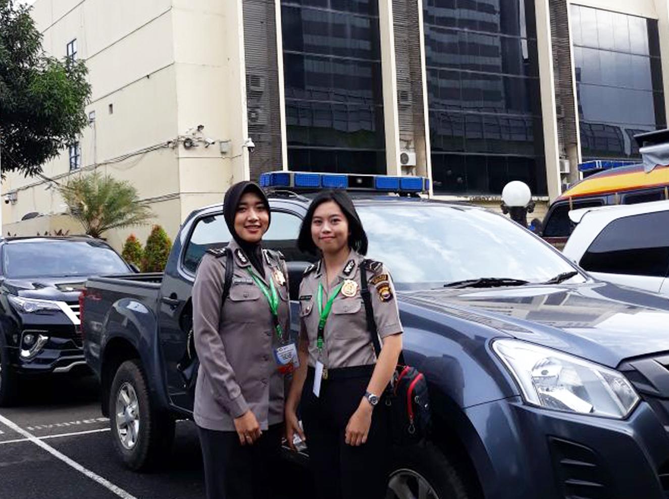 Dua Srikandi Polres Kepahiang Mengikuti Seleksi Test Event Asian Games XVIII/2018