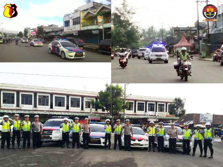 Minimalisir Kecelakaan, Satlantas Polres Kepahiang Lakukan Public Address
