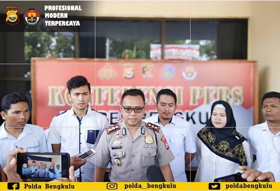 Kasus Suami Siram Istri Air Keras, Polres Bengkulu Tangkap 1 Tsk Ikut Membantu