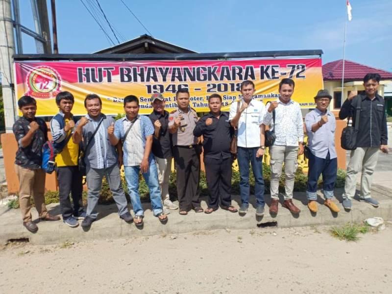 Wartawan Siap Dukung Polri