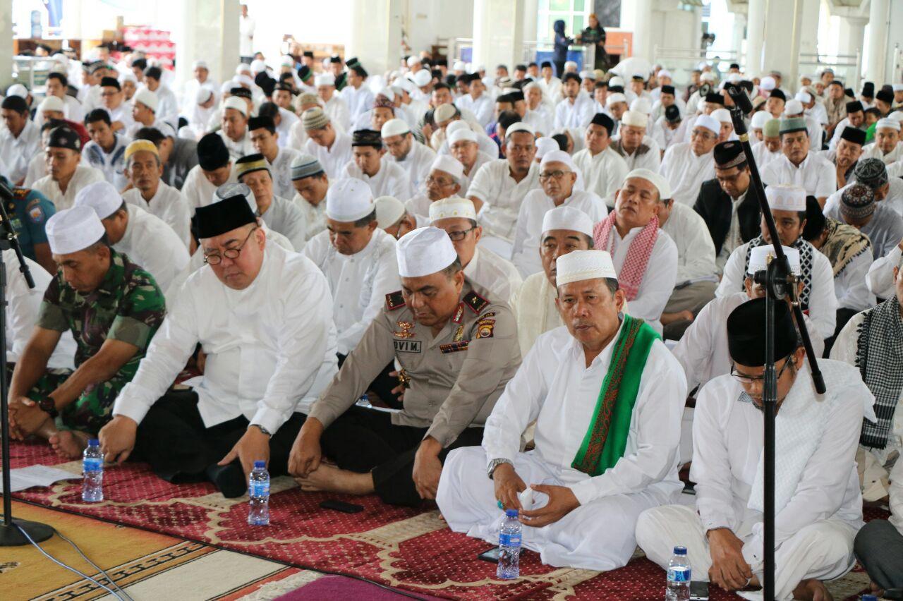 Kapolda Apresiasi Aksi Bela Islam Bengkulu Berjalan Lancar Dan Damai