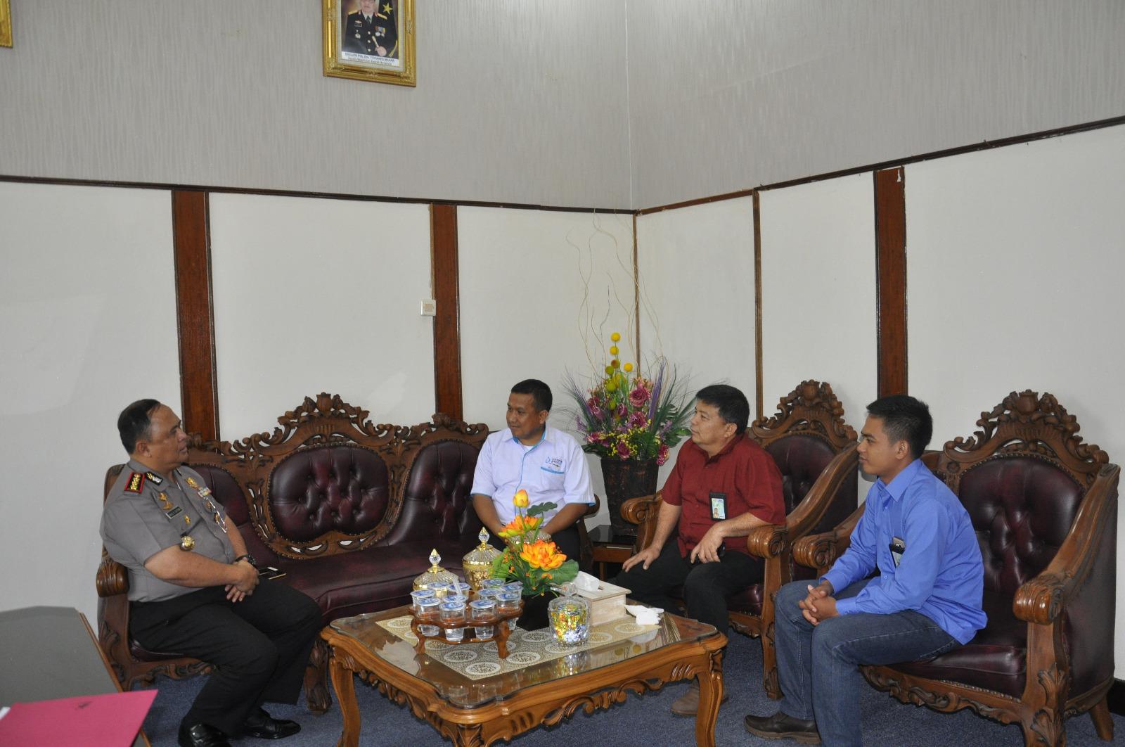 Wakapolda Bengkulu Terima Kunjungan Maneger PLN Area Bengkulu