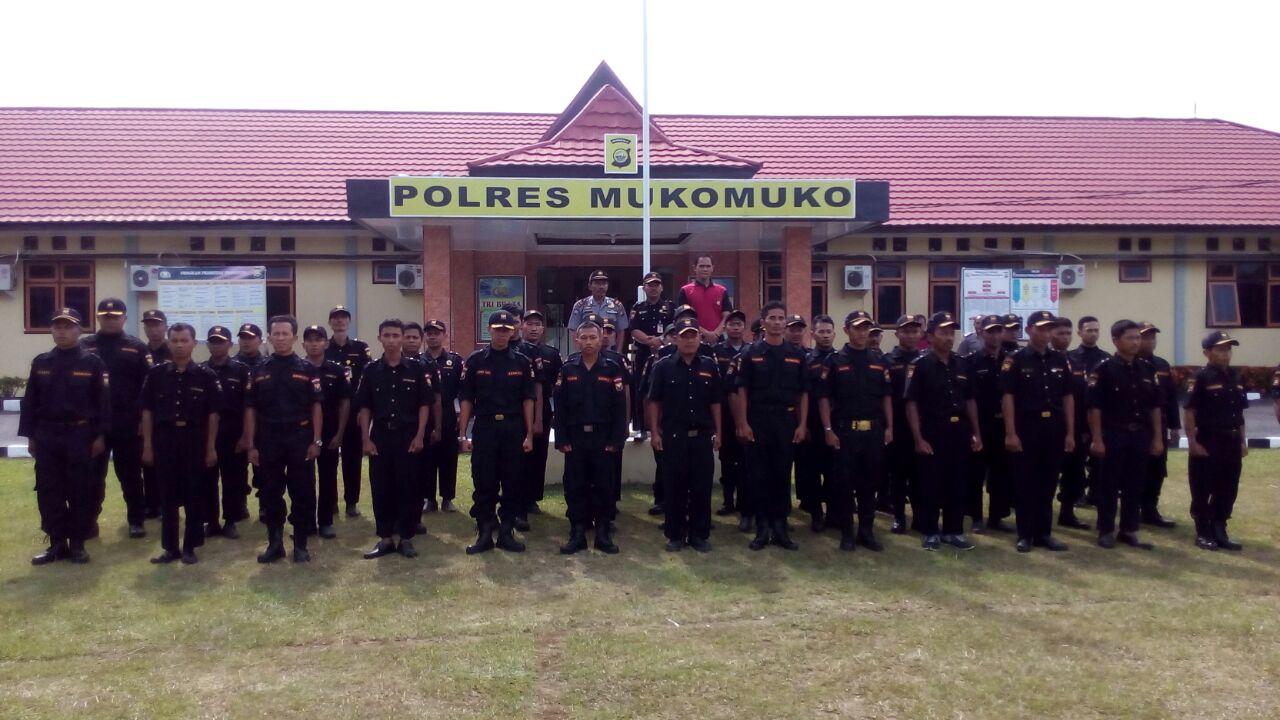 Pembaretan di Polda Bengkulu, Polres Mukomuko Kirim 27 Orang Senkom