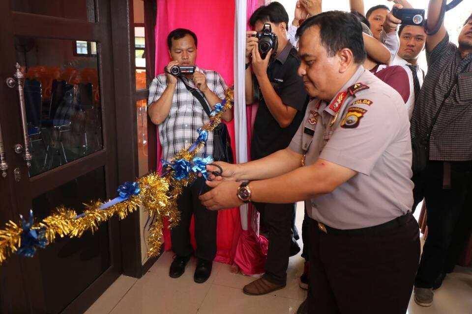 Kunjungan diKaur Kapolda Bengkulu Resmikan Dua Gedung Baru di Polres