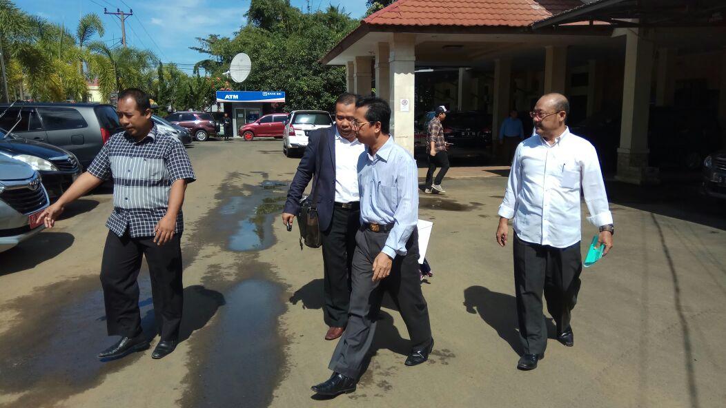 Mantan Gubernur Bengkulu Resmi diserahkan Kepada Jaksa