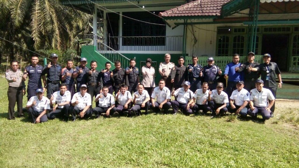 Sinergi Polisional, Polda Bengkulu Lakukan Pembinaan Satpam