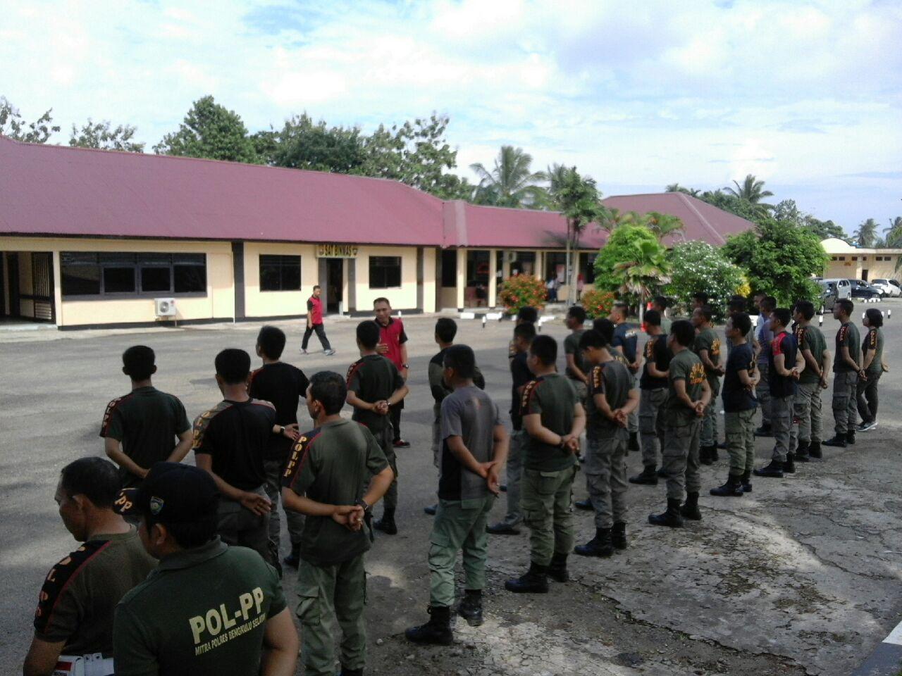Polres Bengkulu Selatan Lakukan Pembinaan Satpol PP