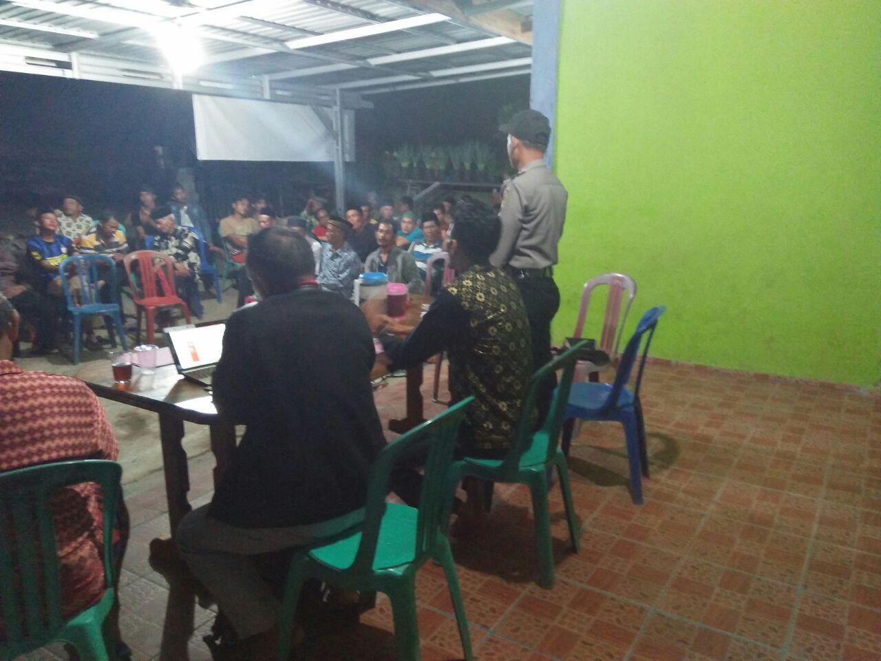 Musrembang Desa, Polsek Kaur Utara Lakukan Pengamanan