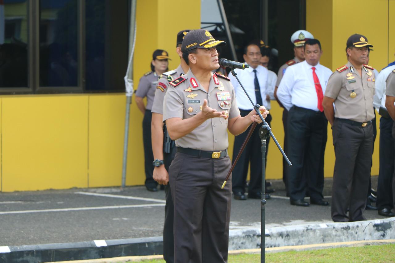 Pilwakot 2018 Bengkulu; Kapolda Bengkulu Larang Anggota Terlibat Politik Praktis