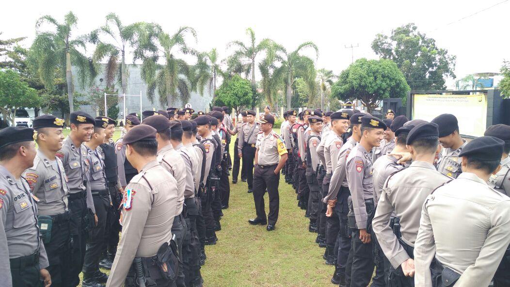 Wakapolda Bengkulu; Awali Pelayanan Kepolisian Dengan Senyuman