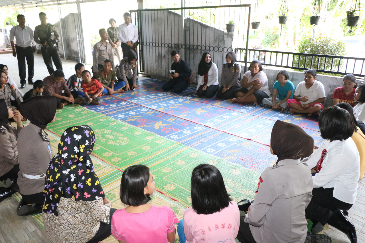 Anniversary Ke-3, DTN Polda Bengkulu Gelar Bakti Sosial