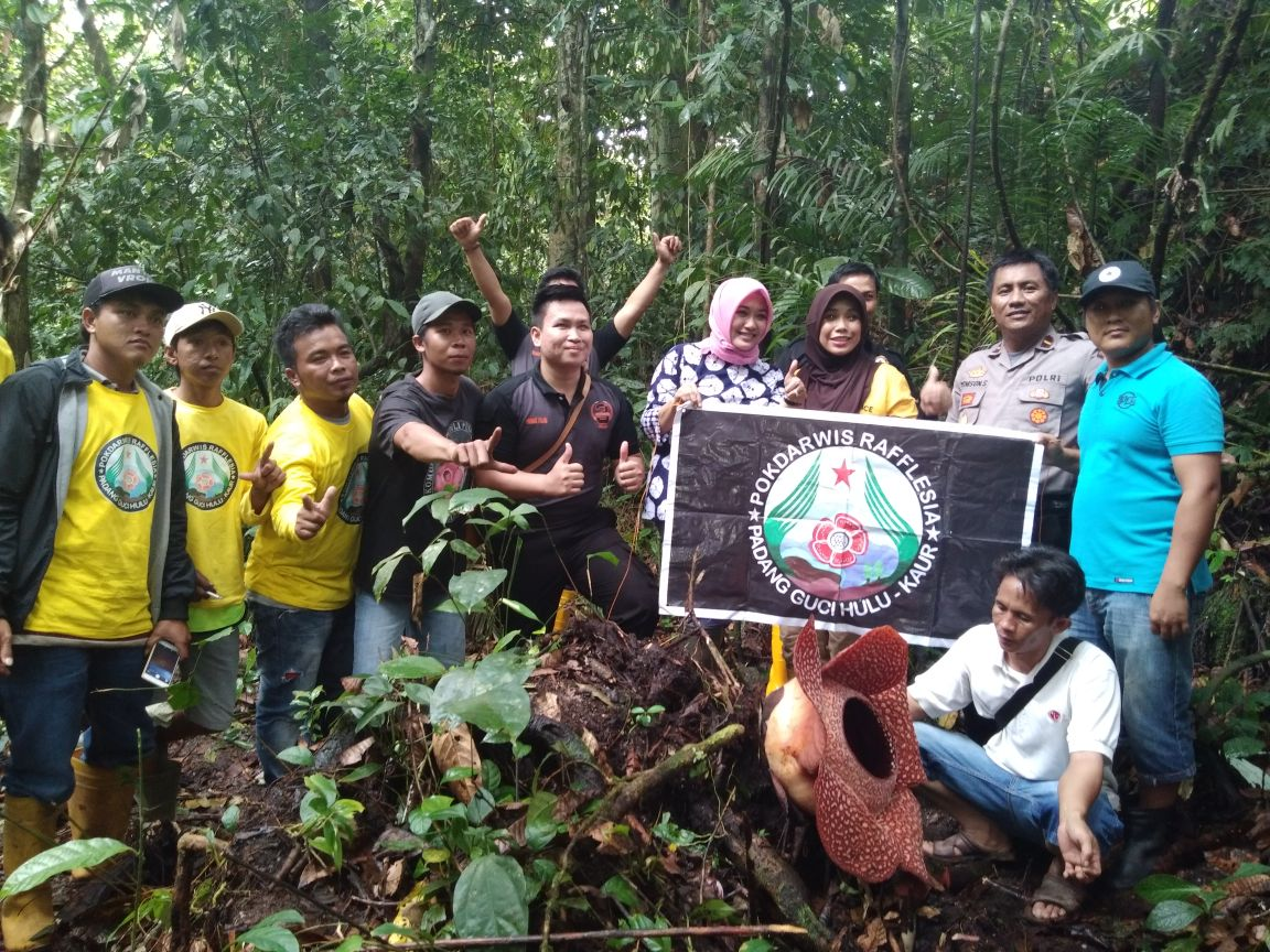 Promosi Wisata Daerah, Bhayangkari Polres Kaur Kunjungi Puspa Langka