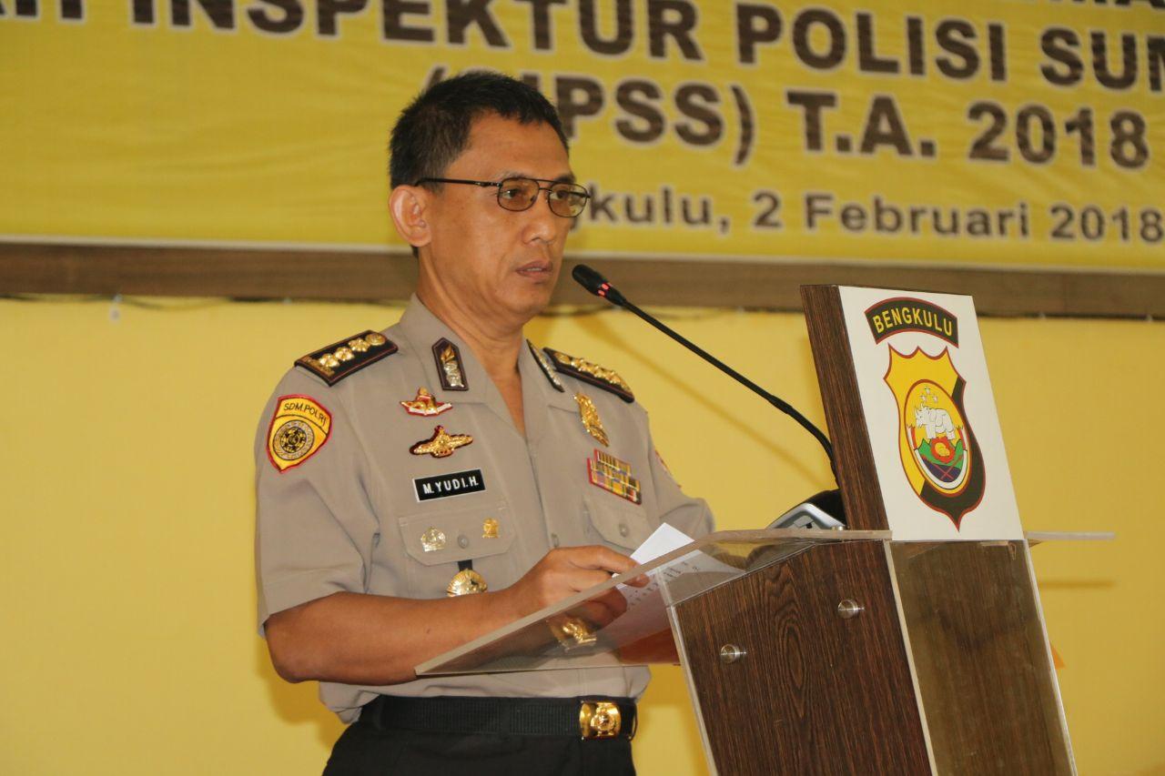 "Karo SDM Polda Bengkulu; Seleksi SIPSS Terapkan ""BETAH"""