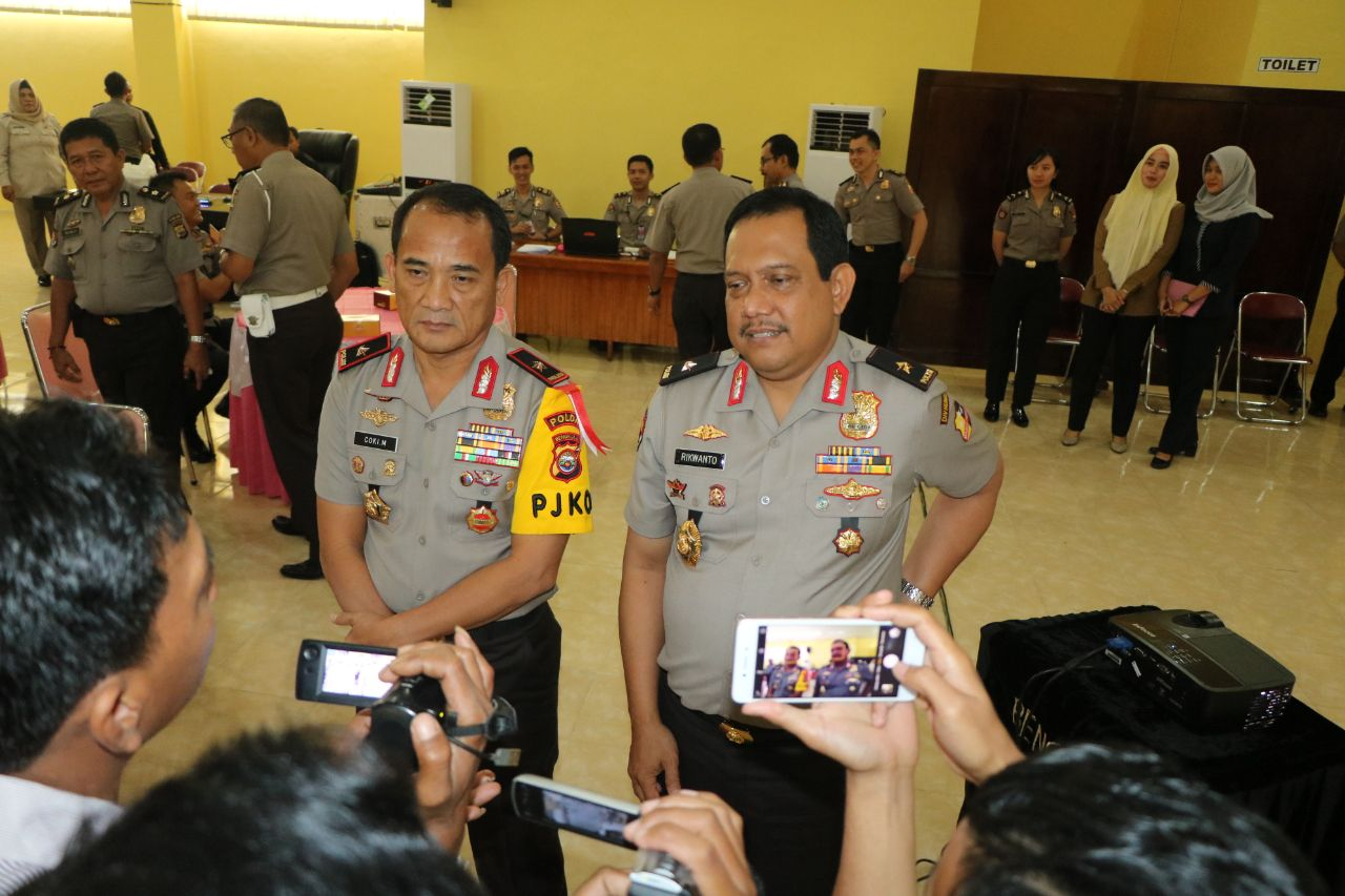 Amankan Pilwakot 2018, Kapolda Bengkulu Perkuat Cyber Patrol