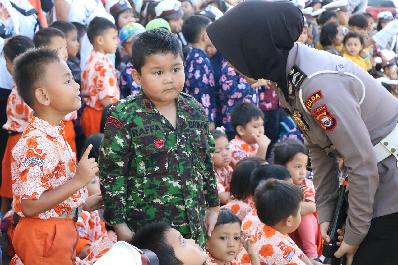 Ramai Tawa dan Suara Anak-anak di Polda Bengkulu