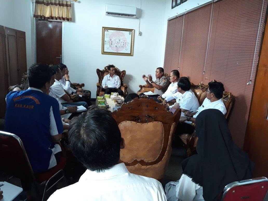 Cegah Konflik di Tengah Masyarakat, Pemda Kaur Gelar Rapat Antar Instansi