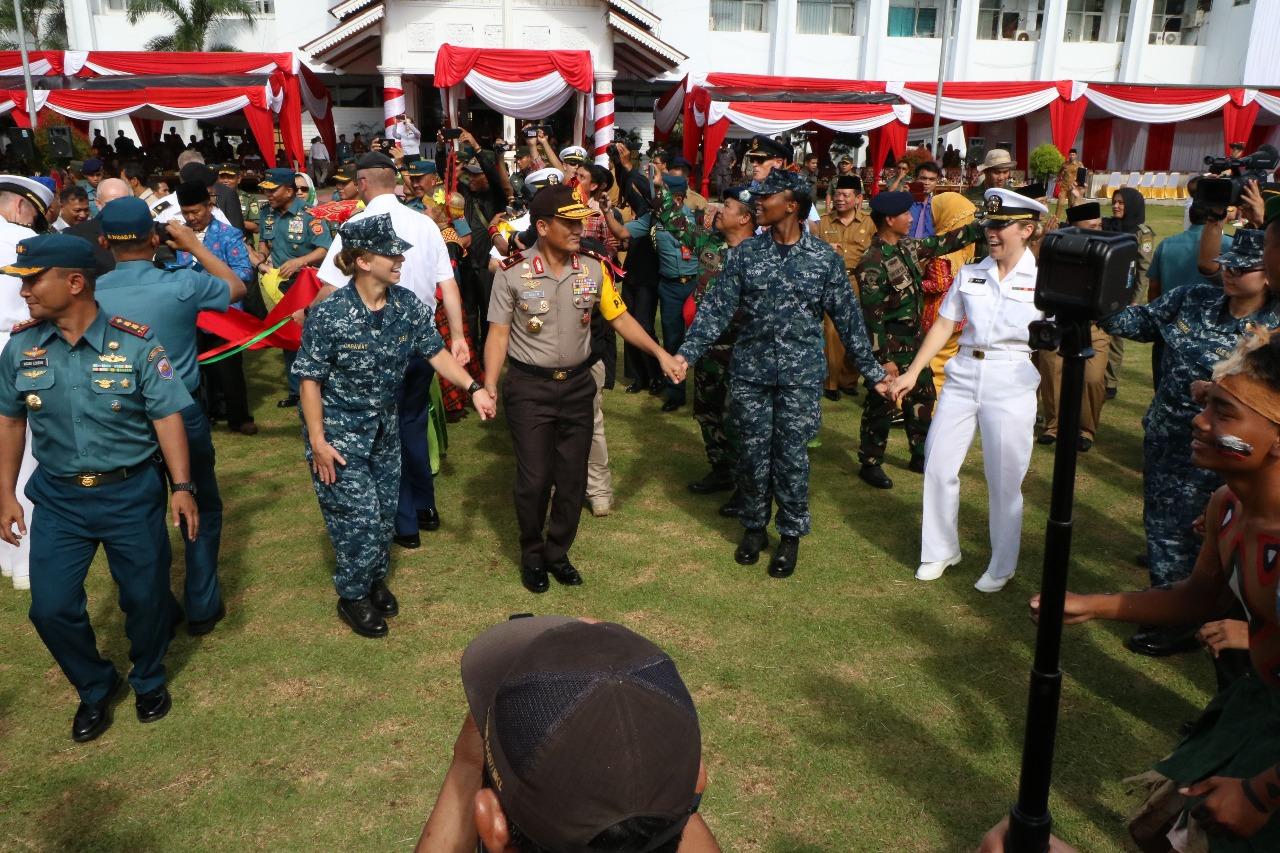 40 Polisi Bengkulu Ikut Pacific Partnership 2018