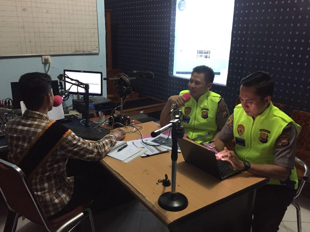 Penerimaan Polri, Biro SDM Polda Bengkulu Siaran di Radio